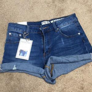 NWT Indigo Rein Highrise shorts